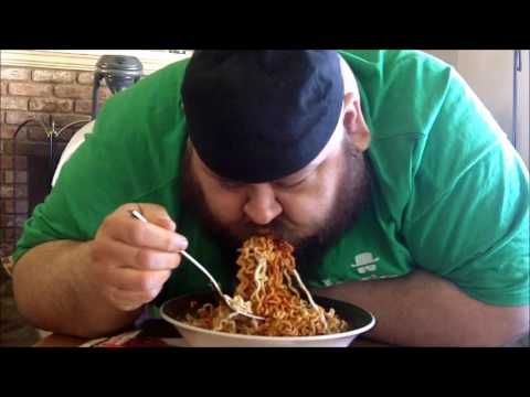Snake Takes On: Korean Fire Noodle Challenge x3