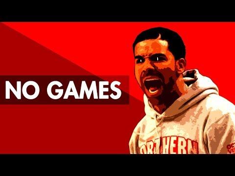 """NO GAMES"" Trap Beat Instrumental 2018   Hard Dark Lit Rap Hiphop Freestyle Trap Type Beat   Free DL"