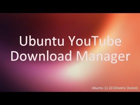 Ubuntu YouTube Download Manager [HQ]
