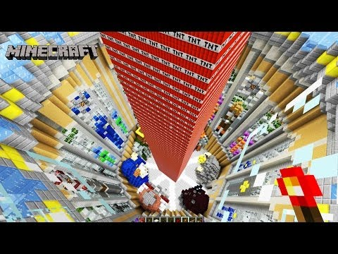 Minecraft 76,000 TNT Block EXPLOSION!! | Minecraft Game Of Thrones Map | Minecraft TNT Destruction