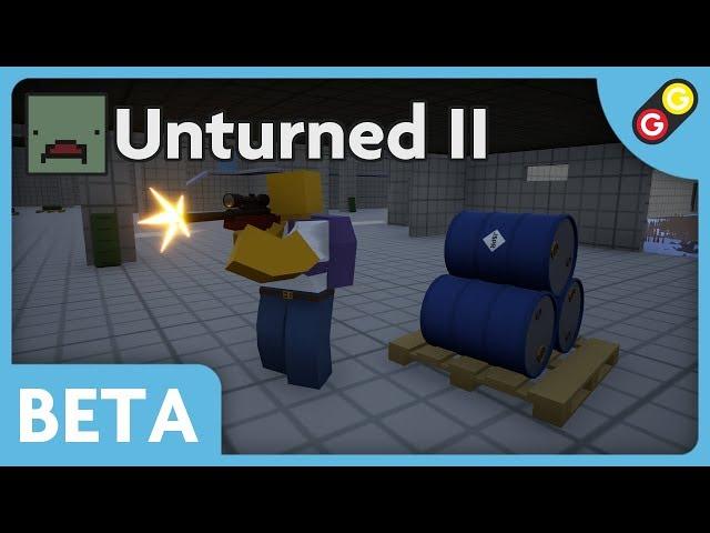 Unturned II BETA - CQC Map Demo [FR]
