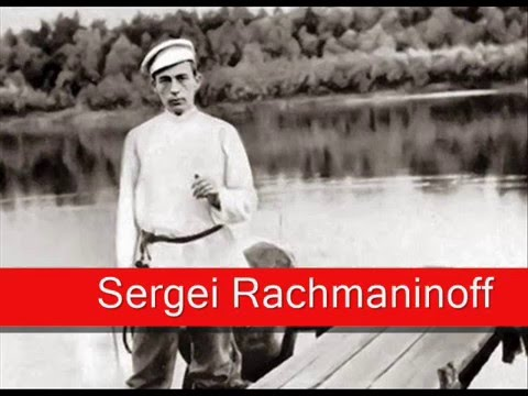 Sergei Rachmaninoff: Saint Saëns - The Carnival of the Animals, 'The Swan'