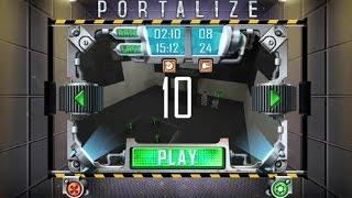 как пройти Portalize уровень 10 (level10)