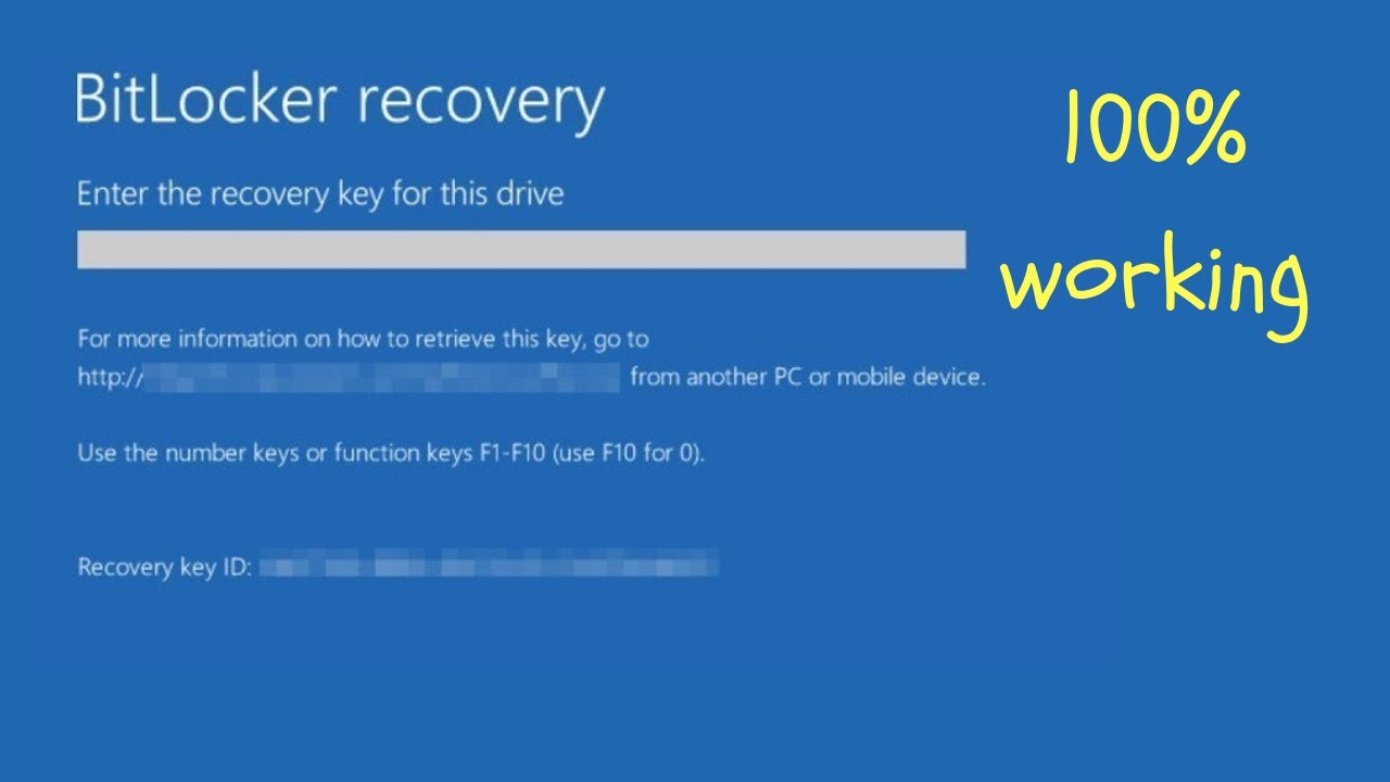 How To Find BitLocker recovery key | Windows 10 Recovery Key
