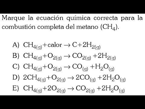 REACCIONES QUIMICAS POR COMBUSTION PROBLEMA RESUELTO - YouTube
