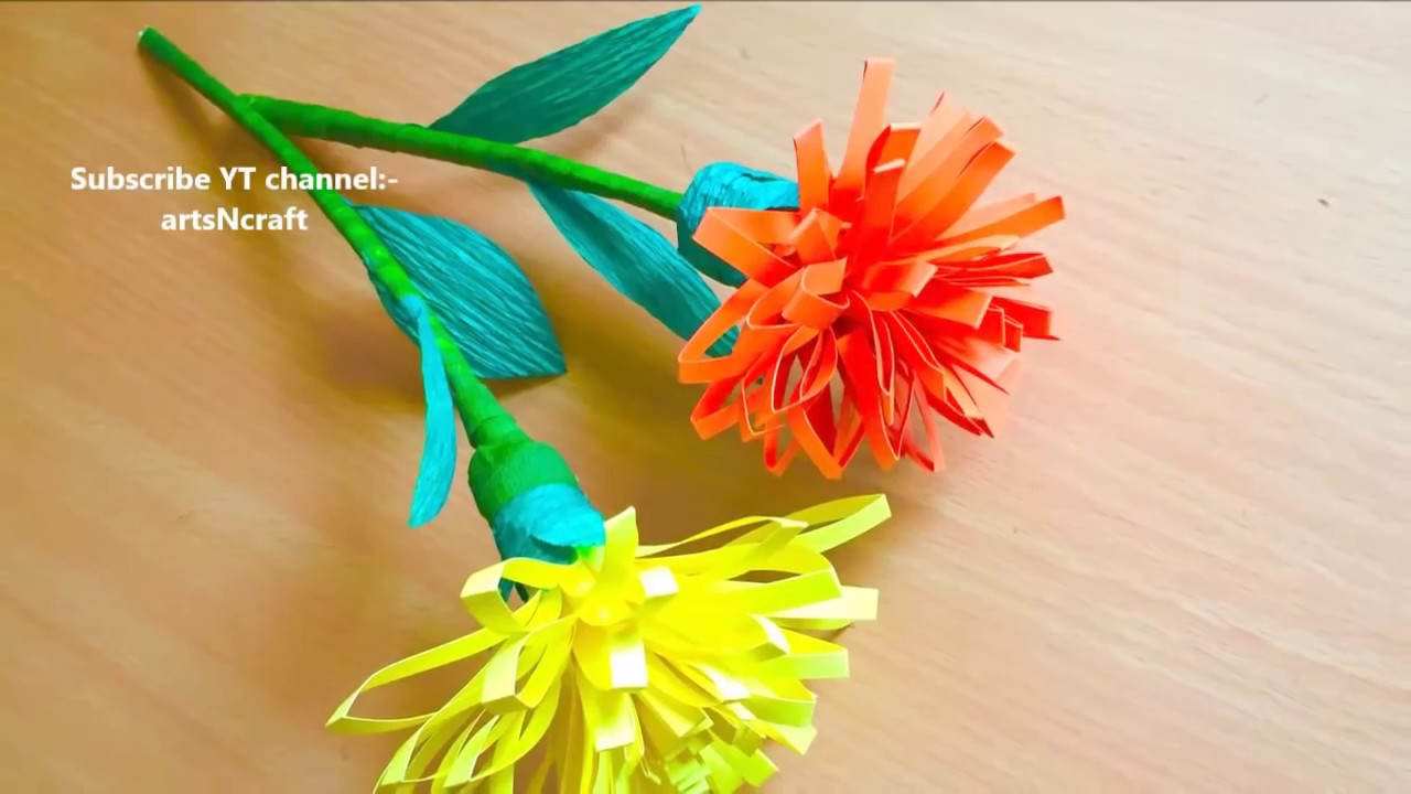 Rolled paper flowers making at home diy paper crafts for home decoration quelling mightylinksfo
