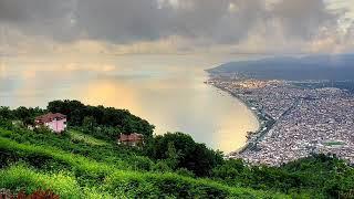 Karadeniz ve huzur verici fon müzik