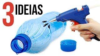Ideias Criativas com Garrafa Pet
