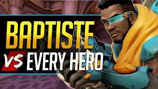 Overwatch Baptiste vs Every Hero - All Counters, Strengths, & Weaknesses