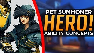 Overwatch: New Hero & Abilities Concept - Khutulun the Eagle Huntress