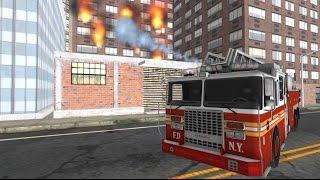 Firefighter Truck Simulator 3D - Android Gameplay HD screenshot 1