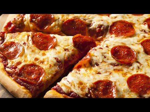 صورة  طريقة عمل البيتزا طريقه عمل بيتزا ببروني الايطاليه.🍕🍕🍕🍕🍕🍕 طريقة عمل البيتزا من يوتيوب