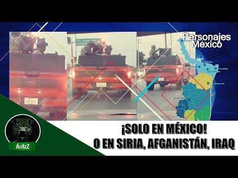 Así se pasea el CDN en calles de Nuevo Laredo