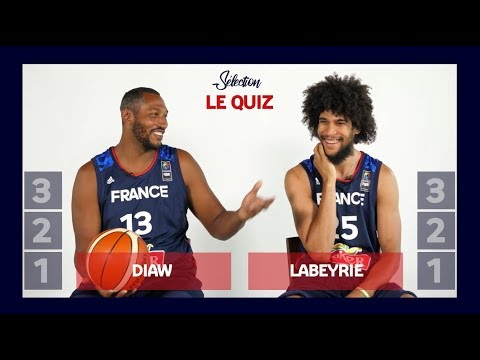 Le Quiz : Boris Diaw vs Louis Labeyrie - Match retour