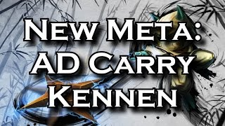 New Meta: AD Carry Kennen - The Versatile ADC | League of Legends