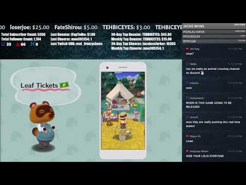 Animal Crossing Direct! Let's go over the Trailer!   Live Streamed 【Animal Crossing: Pocket Camp】