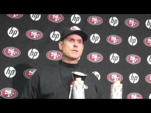 Jim Harbaugh on Scott Tolzien (2013 Preseason Game 1)
