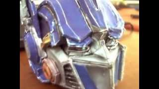 PaperCraft - Optimus Prime Face - Model
