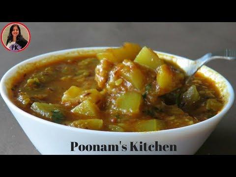 - /Punjabi lauki wadi curry|Poonam's Kitchen
