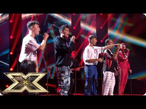 United Vibe Sing Party In The USA | Live Shows Week 2 | The X Factor UK 2018