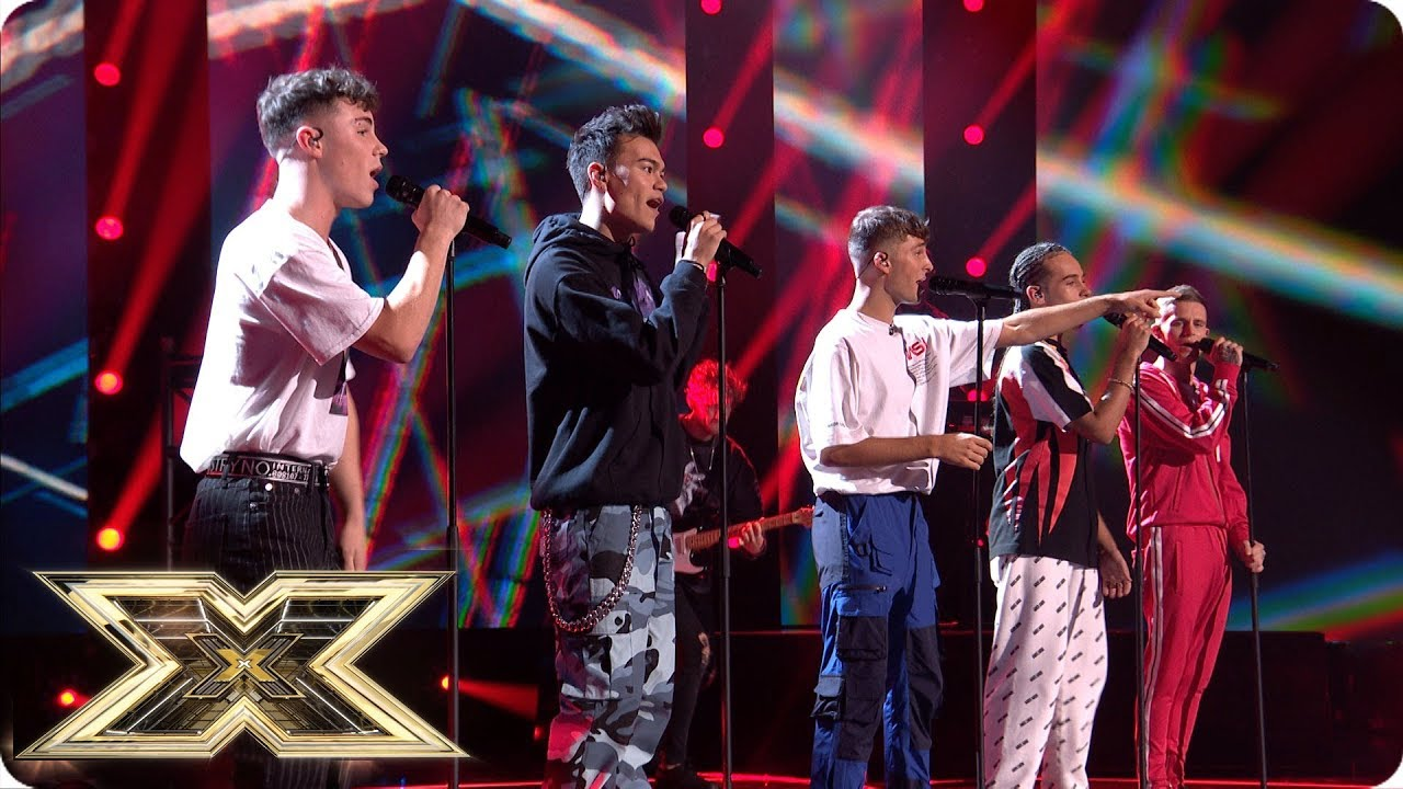 United Vibe Sing Party In The USA   Live Shows Week 2   The X Factor UK 2018