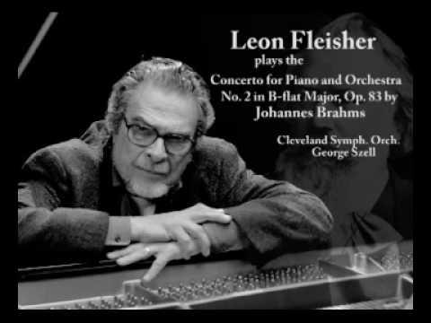 Brahms Piano Concerto No. 2 In B-flat Major, Op. 83 - Leon Fleisher - 1st Mvt. (1/2)