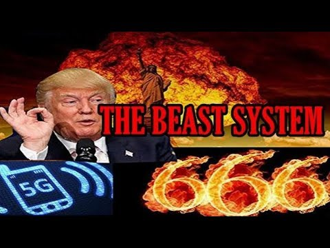 Donald Trump - BEAST SYSTEM The Rise of 5G-6G and RFID CHIPS a Dirty & Dark FUTURE