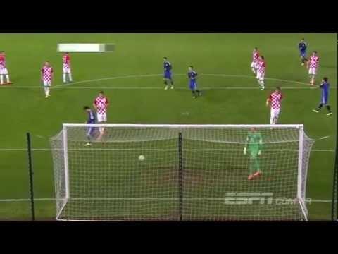 argentina vs croatia 2 1 international friendly 11 12