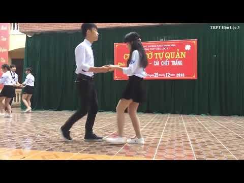 Nhảy Chilly Cha Cha Cha    Học sinh cấp 3 nhảy quá đỉnh
