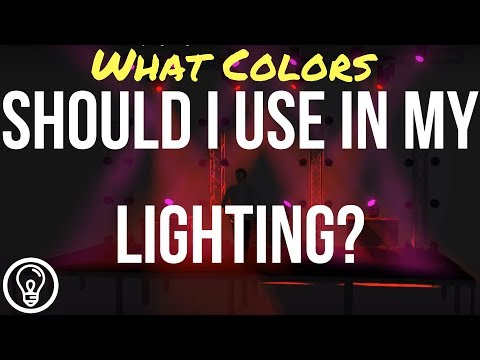 What Colors Should I Use in My Lighting?