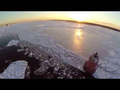 Sandy point state park drone chesapeake bay bridge