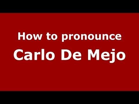 Wn Carlo De Mejo