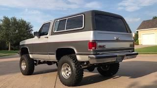 1991 GMC Jimmy Full Size 4x4 Blazer All Original $14,900