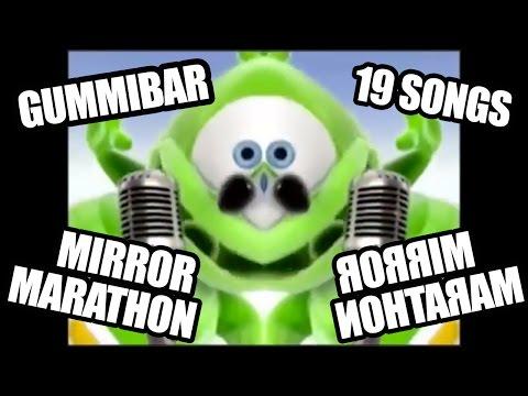 Gummibär MIRROR MARATHON 19 Gummy Bear Songs In 1 Video