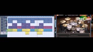 Chris Reggae Keyboard - Ezdrummer 2 Rock EP 3