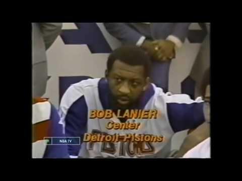 Bob Lanier - 1979 NBA All-Star Highlights (Silverdome)
