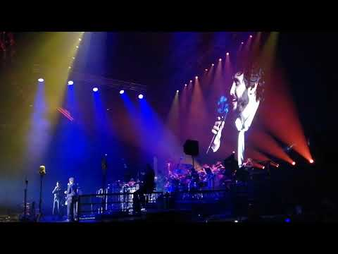 "Josh Groban And Christian Bautista Performing ""We Will Meet Once Again"" At Bridges Tour In Manila"