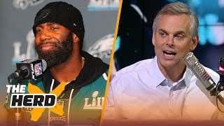 Colin Cowherd on Philly celebrating their Super Bowl, Jerry's influence on the NFL | NFL | THE HERD