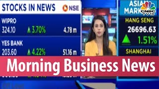 Today's Top Morning Business News Headlines | Jan 16, 2019