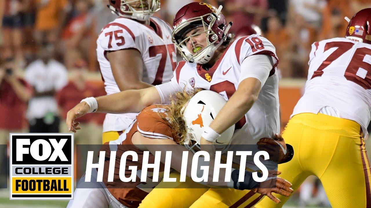 Texas vs. USC | FOX COLLEGE FOOTBALL HIGHLIGHTS - YouTube