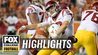 Texas vs. USC | FOX COLLEGE FOOTBALL HIGHLIGHTS