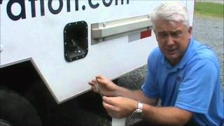 how to apply reflexite conspicuity tape to a trailer