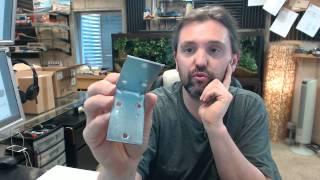 Ultra Hardware 96078 Zinc Double Corner Brace Plate