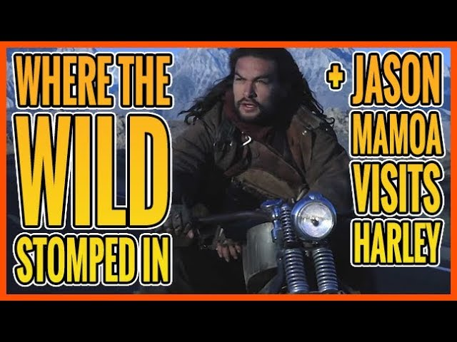 Born To Ride Episode 1217 - Where the Wild Stomped In, Jason Mamoa visits Harley, Swaporama