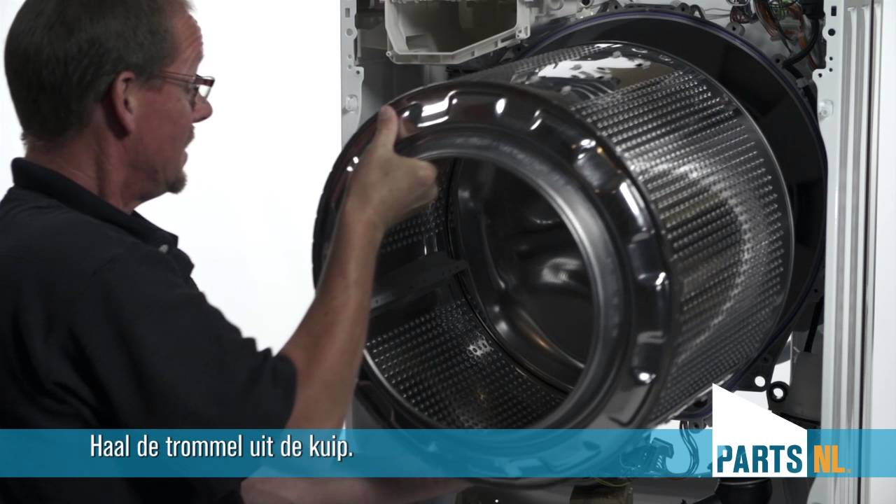 Bekend Lagers vervangen van wasmachine, PartsNL uitleg - YouTube GA55