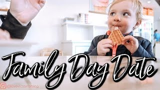 FAMILY DAY VLOG | ZOO + ICE CREAM DATE