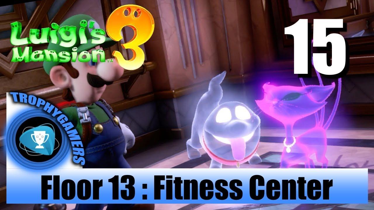 Luigi's Mansion 3 - Floor 13 Fitness