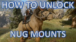 Dragon Age: Inquisition Highlight | How To Unlock Nug Mounts