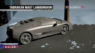 Inilah Kronologi Tabrakan Maut Lamborghini di Surabaya