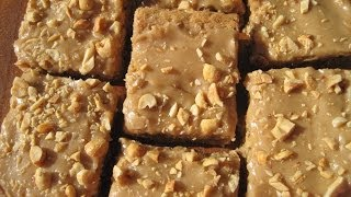 Peanut Butter Bars - How To Make Peanut Butter Bars Recipe